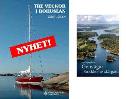 Svenska Kryssarklubben, SXK, och Norstedts Nautiska bibliotek med flerahar givit ut många bra hamnguider genom åren.