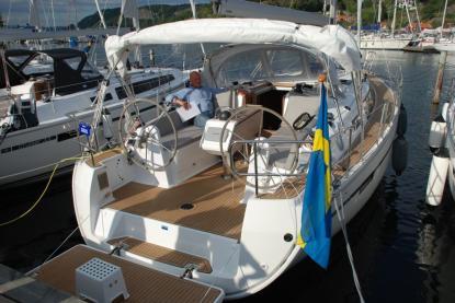 Bavaria Cruiser 37 hade världspremiär och är redan nominerad till European Yacht of the Year.