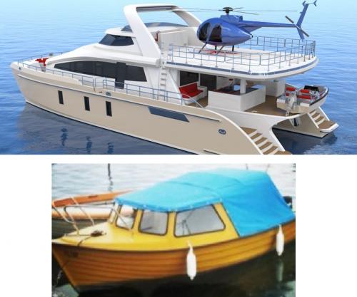 stora båtar till salu
