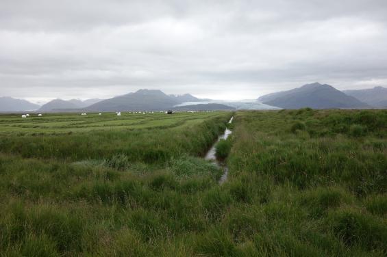 Jag fick lära mig att Vikingarna ville ha Island för sig själva. Därför döpte de isiga Grönland till Grönland och gröna Island till Island.