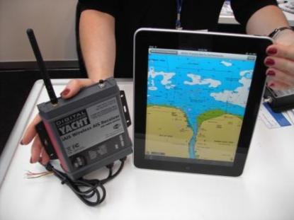 iAIS tar emot AIS-information och sänder det trådlöst till din iPhone eller iPad via WLAN.