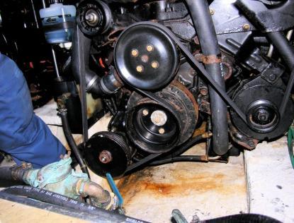 Rostangrepp på motorerna.