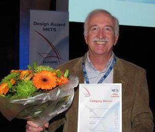 Dr. Giuseppe Carnevali och Navionics vann kategoripriset \