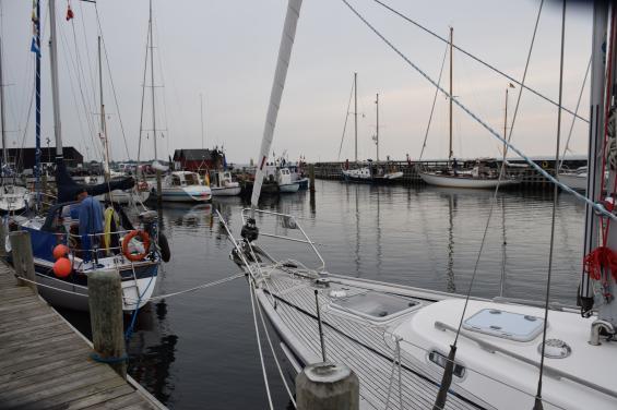 Lohals hamn på Langeland.