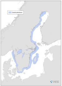 Svensk sjöterritorium sträcker sig 12 sjömil utanför gränslinjen \