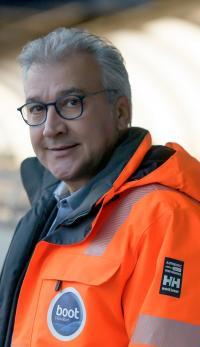<span>Petros Michelidakis, VD för Düsseldorfs båtmässa</span>