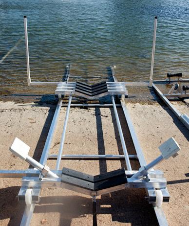 Slipvagn för båtar upp till 2500 kg.