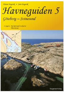 Över 90 sjökortsbilder har norska förlaget Skagerrak kopierat från svenska boken Skanör - Strömstad och gjort till sina egna i Hamnguiden 5 Göteborg - Svinesund.