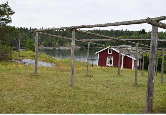 Kalle Rosths fiskarstuga är numera ett välbesökt museum.