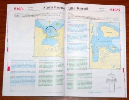 Hamnguiden i A4-format innehåller information om de flesta hamnar och naturhamnar inom sjökortens täckningsområde.