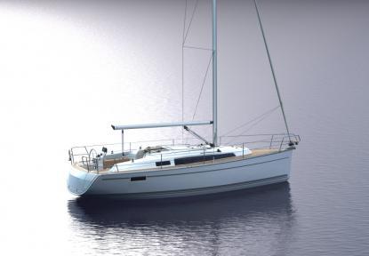 Bavaria cruiser 33 är redan varvets storsäljare och såld i 11 exemplar i Sverige. Skapad av Farr Yacht design. Ny ergonomisk sittbrunn och ljus salongen tack vare panoramaventiler och mer volym inombords än föregångaren. Snickeriarbeten inombords är formad av Design Unlimited.