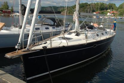 Diva 38,2 från Fabola Yachts - med världspremiär i Henån.