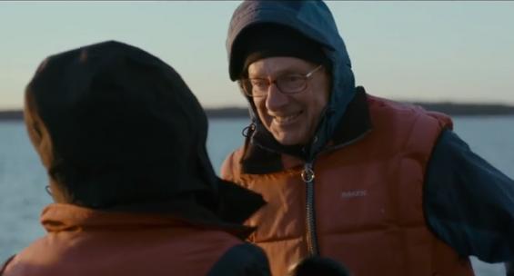 Ing-Marie och Matts Nordenskiöld berättar om sin dramatiska upplevelse från Stockholms ytterskärgård.