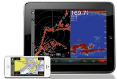 Styr navigatorn eller följ navigeringen från din mobil eller surfplatta.