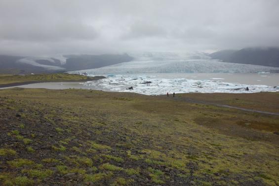 Is från Vatnajökull.