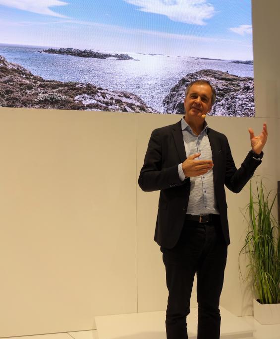 Björn Ingemanson, VD Volvo Penta.