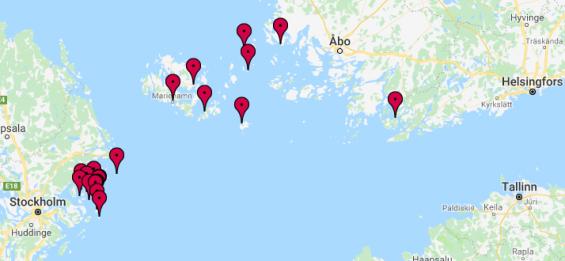 Det andra EU-finansierade projektet SeaStop handlar om 19 gästhamnar runt centrala Östersjön som rustas för cirka 43 miljoner kronor.