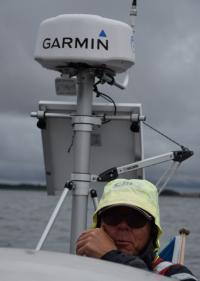 Garmin Fantom Solid state radar på 18 tum.