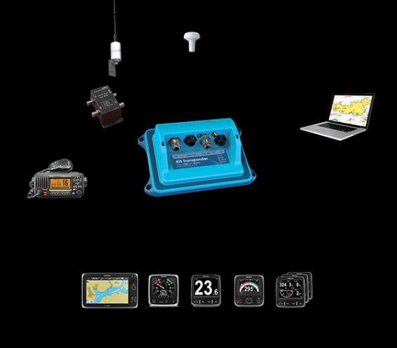 Vesper Marines SmartAIS har en hel del praktiska finesser som till exempel ankarvakt och signalmätning av antennstyrkan.