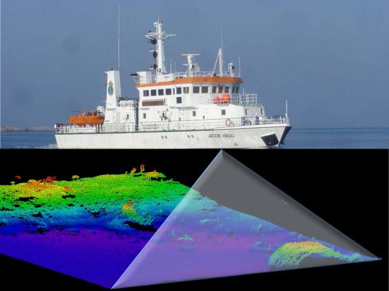 Modern sjömätning sker med avancerade multibeamekolod. Att sjömäta på grunda områden, till exempel 3 till 10 meters djup, är tidskrävande eftersom strålen från ekolodet täcker ett mindre område än om djupen är större.