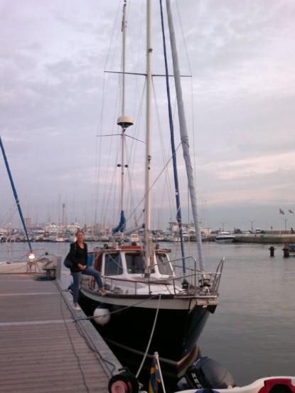 Det var säljaren av båten som fick upp mitt intresse för iPad som navigator, berättar Åke Friman.