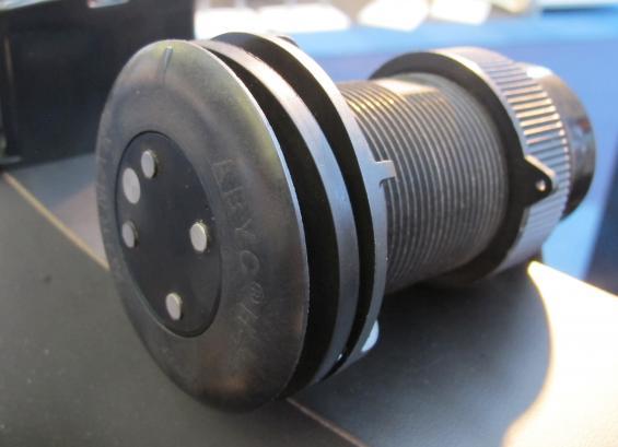 AIRMARS nya givare DX900+ Multilogg visar fart genom vattnet, avdrift, djup och mäter vattentemperatur.