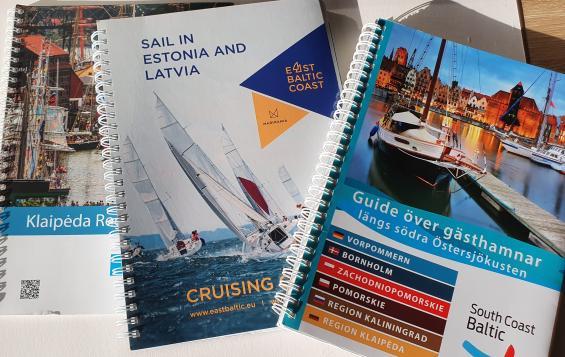 Dessa hamnböcker över södra och östra Östersjöns kustområden finns att hämta gratis på båtmässan Allt för sjön.