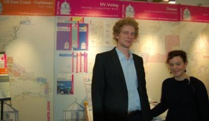Jeppe Scheidt och Elvira Marklund från NV-Verlag
