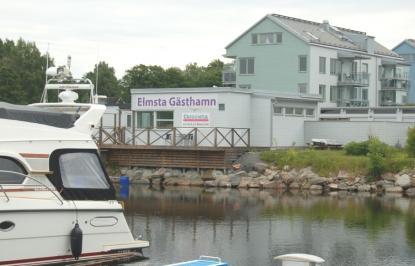 Gästhamnen skulle säkert få fler besökare om skylten \