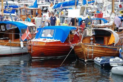 Trevligt att se att träbåtsintresset är stort även i Danmark