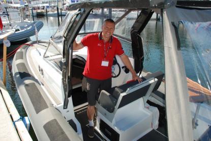 """Peder Asplund, som står bakom projektet med Agapi, menar att man med sitt delägar- och servicekoncept """"helt enkelt sätter en ny kurs för båtlivet."""""""