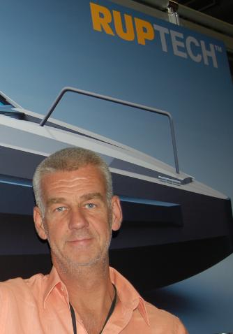Thomas Rönnberg, entreprenören med nya båtar på gång.
