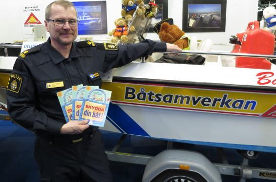 Thomas Andersson, Polisens Båtsamverkan på västkusten, berättar att samordnade insatser mellan polisen och båtklubbar har lett till fler gripanden av stöldligor.