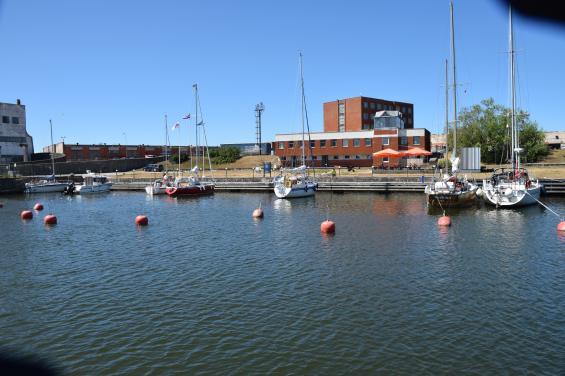 Gästhamnen i Ventspils.