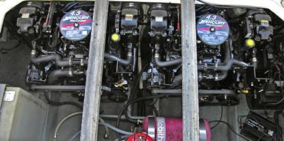 Ett lockbete med två nya motorer kan göra att man gärna inte vill se båtens alla fel.