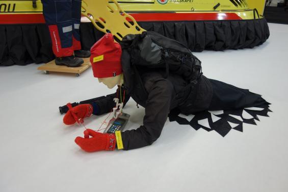 Sjöräddningssällskapet, SSRS,är även aktiva vintertid och rycker ut för att bland annat undsätta skridskoåkare som fått problem med bristfälliga isar.