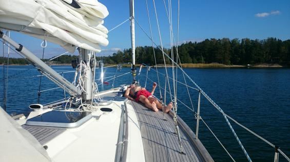 Varför segla i Medelhavet när finska skärgårdshavet är som bäst?