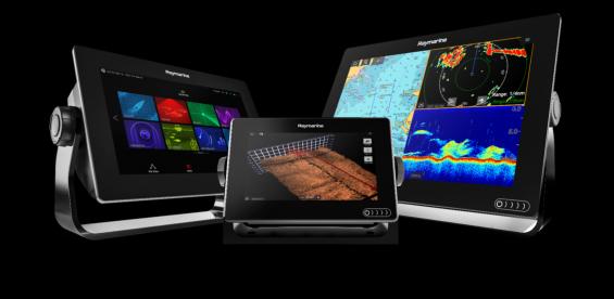 Raymarine lanserar en fyrkärnig MFD med pekskärm och 3D-vy samt CHIRP- funktion b4c82dbdc07f2