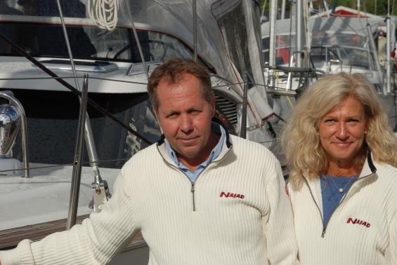 Håkan Bengtsson är en av två ägare av Najad AB. Sambon Stina Backman berättar att det har<span style=\