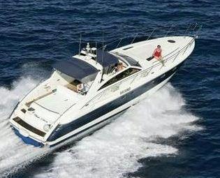 Största båt på mässan blir en Princess V52, på hela 52 fot, eller 16 meter lång.