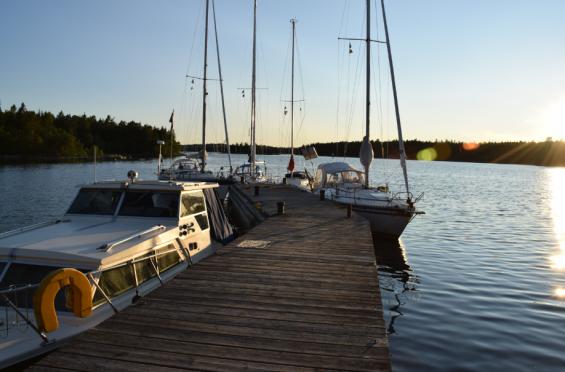 Synskär innanför Gåshällans fyr. Vi är här mellan Gävle och Söderhamn.