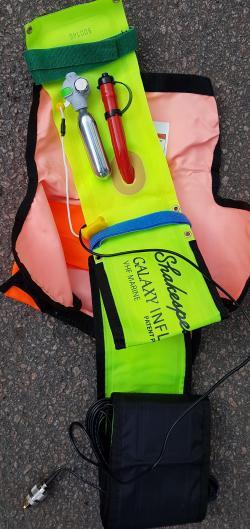 Hela kitet ryms i en liten väska som är 25 x 15 cm.