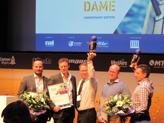 Vinnarna i 2015 års Dame Award.