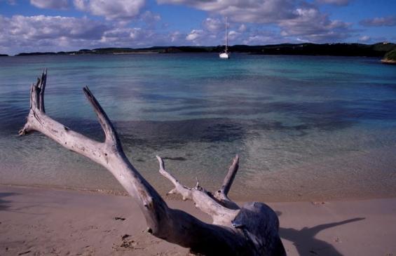 Att hitta en ensam skyddad ankringsplats innanför ett rev i tropiska vatten är en av drömmarna för en långfärdsseglare. Bra ankringsteknik gör då att upplevelsen kan ske utan oro.