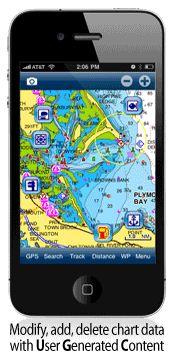Navionics sjökort över hela Europa till mobilenkostar drygt hundralappen.