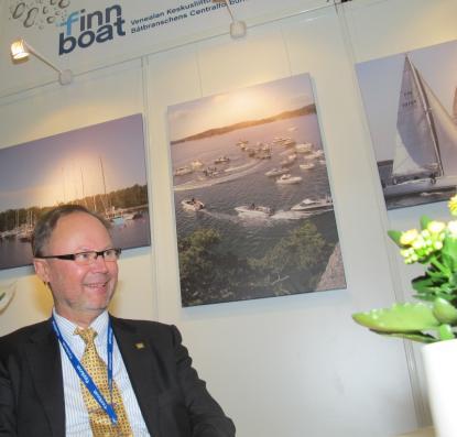 Vi har gjort det här för att stärka finsk fritidsbåtsindustri i syfte att sälja fler båtar, säger Jouko Huju