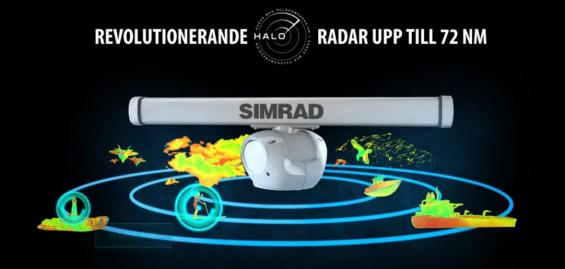 Simrad presenterade Halo radar på METS 2015.